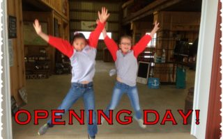 Opening Day at Wholesome Pickins